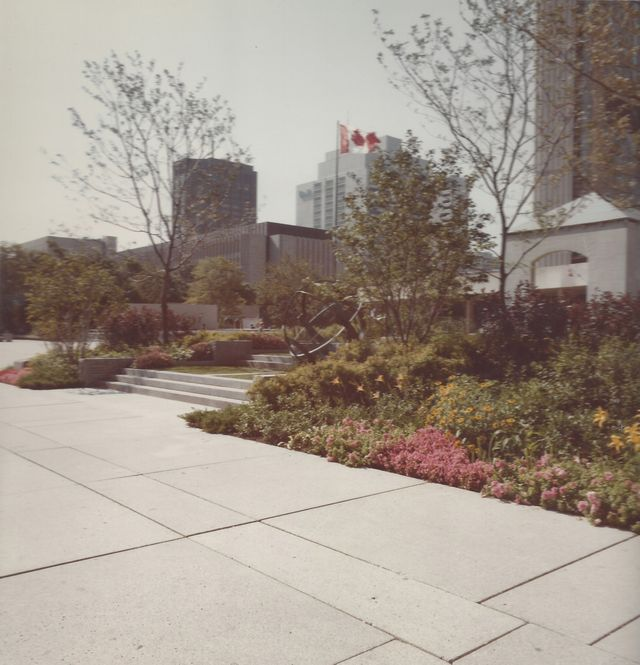 Toronto's original Peace Garden featured 6,500 permanent plants portraying our relationship with the environment